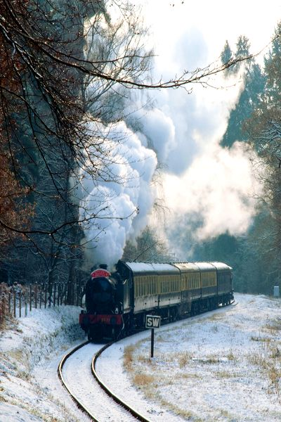 Steam Engine, Forest of Dean, England photo via about