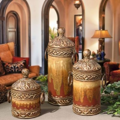 tuscan style kitchen canisters 174 best images about pottery ceramic soup tureen canisters on pinterest ceramics set of 5631