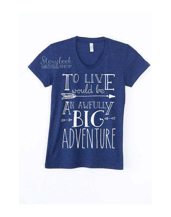 Big Adventure Peter Pan Shirt Disney Vacation by StorybookShop