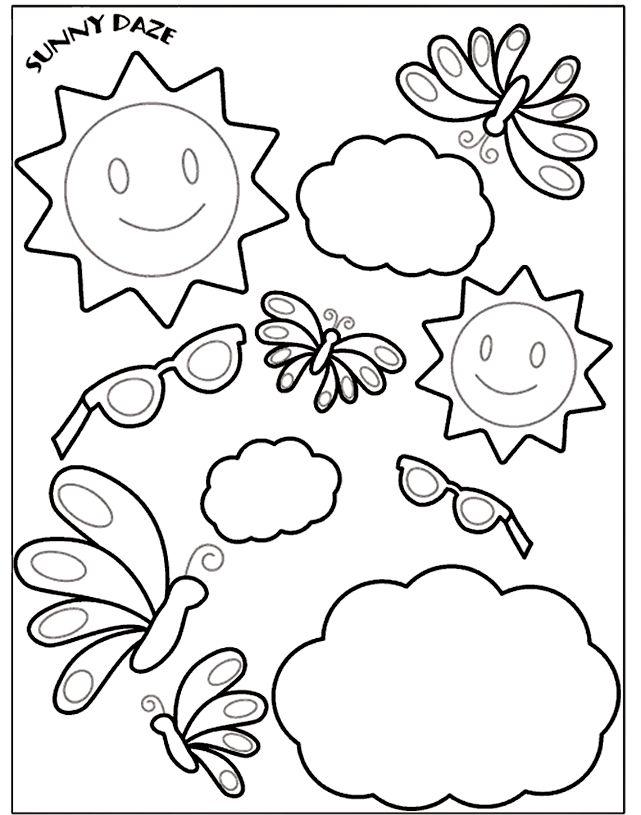 Crayola coloring page pattern. Felt Frenzie Crayola