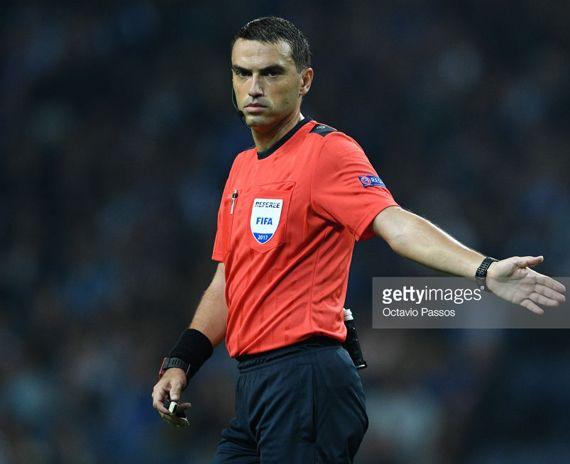 sportcampina: Haţegan a arbitrat FC Porto - RB Leipzig 3-1, în C...