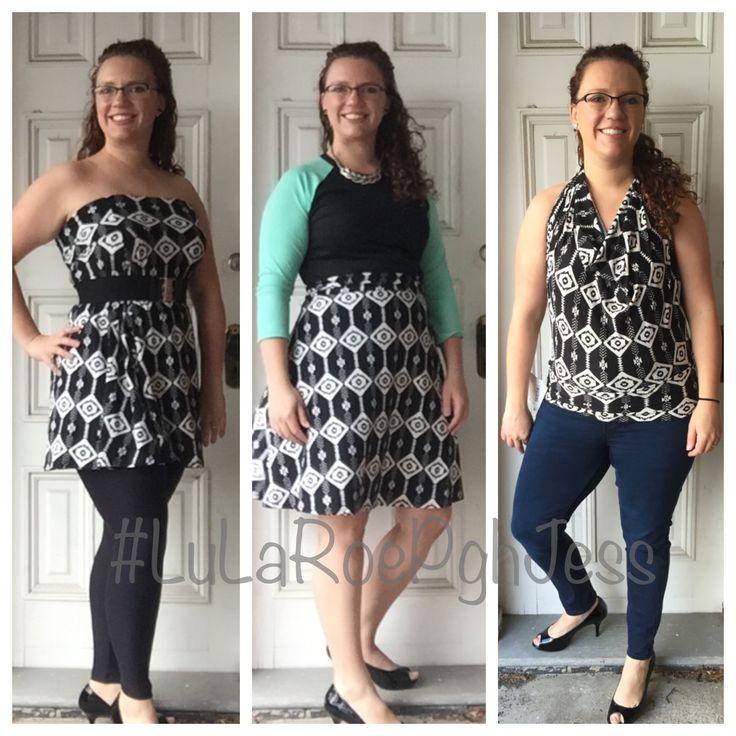 Lularoe Azure Worn 3 Ways I Love The Azure As A Shirt Lularoe Lularoeazure Azure Styling
