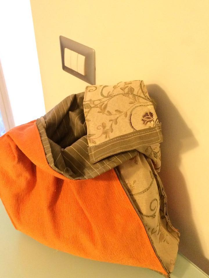 borsa arancio interno
