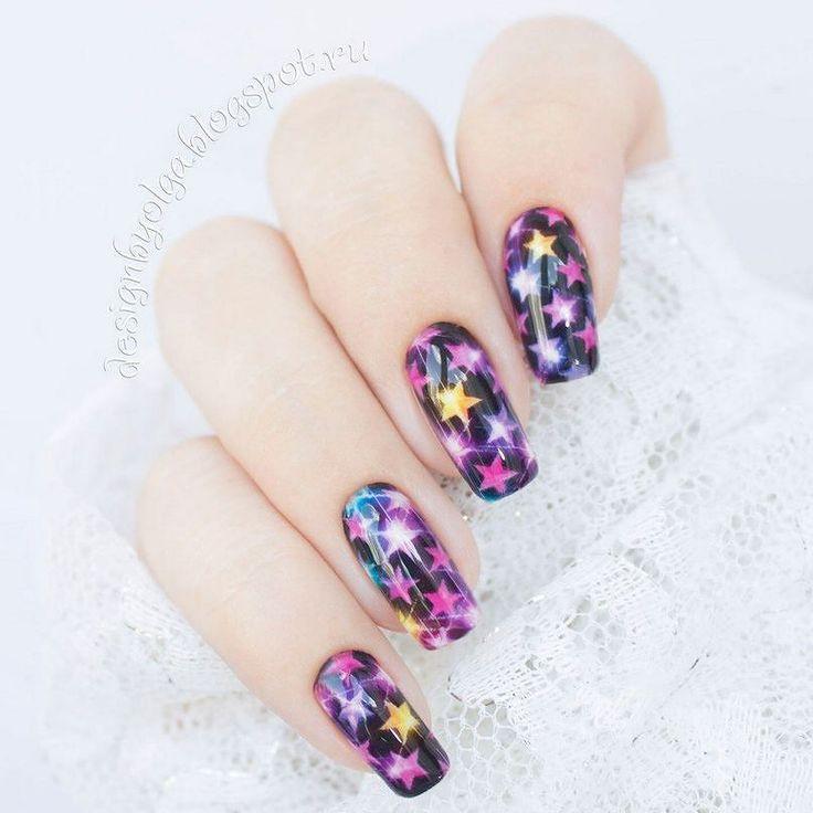 #маникюр #nailart #гельлак #слайдер #чернаяпантера #bpw #красивыйманикюр #ногти #nail #nails #красивыеногти #лето #звезды #ярко #праздник  Маникюр со звездами с @slider_bpwomen. http://ift.tt/2aFb7br
