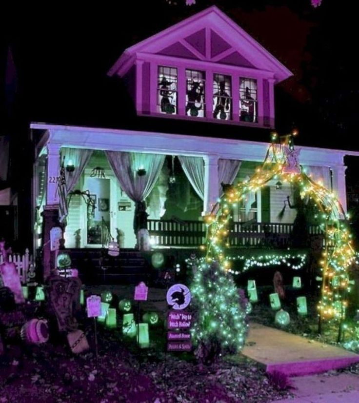 Home Decoration On Halloween