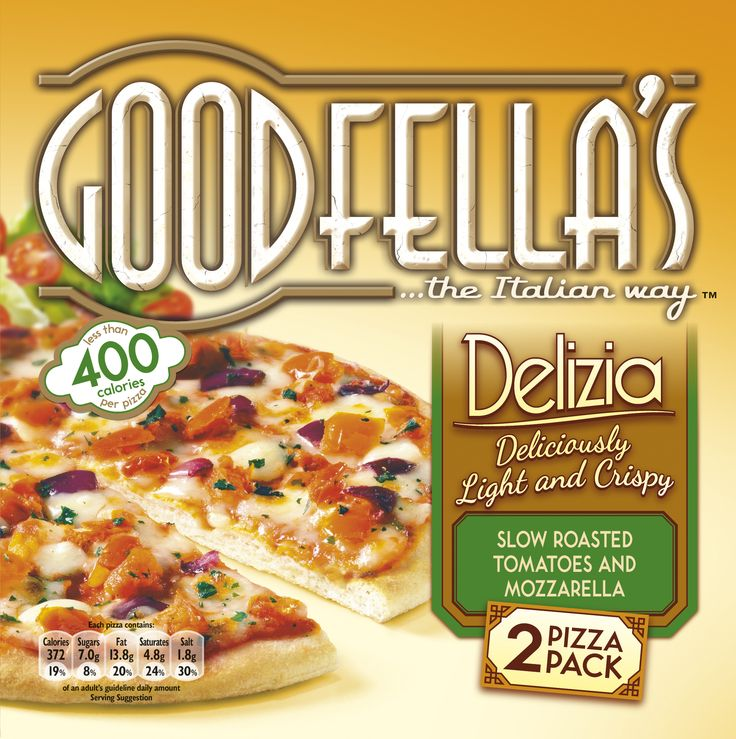 Frozen pizza brand Goodfella's has extended its range with the launch of Delizia. The seven-inch stonebaked pizza range has been released…#packagedesign #packaging #design #graphicdesign #goodfellas #pizza #limitededition #delizia #italianstyle #theSPIRITof
