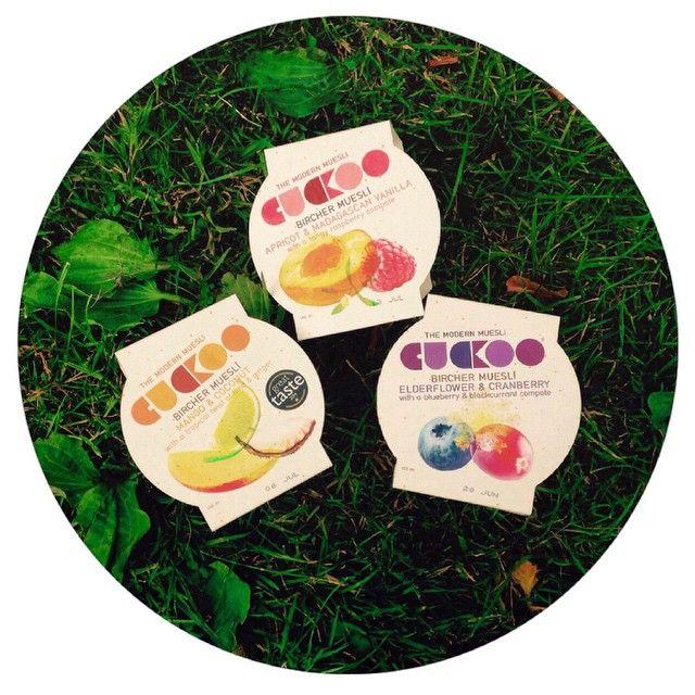 Summer loving... #cuckoo #summer #breakfast #birchermuesli #oats #yoghurt #fruit #british #food #healthy #healthyliving