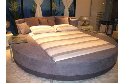 Modern Round Beds With Unusual Design