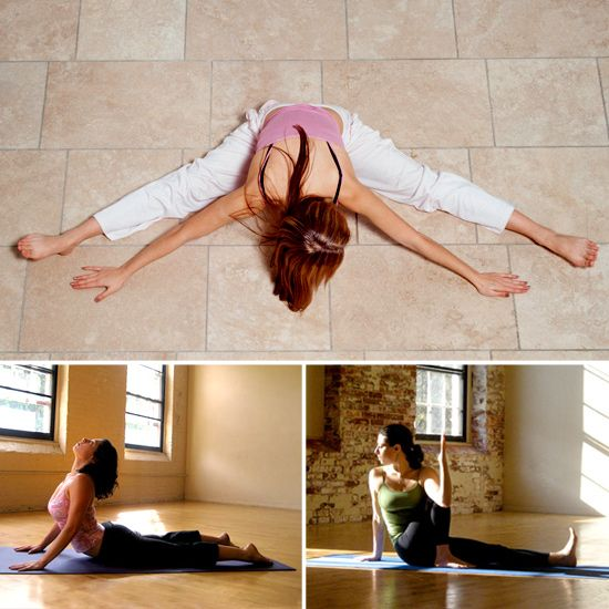 Yoga stretches for back pain, hamstrings and hip tightness