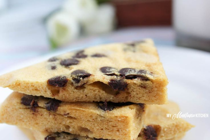THM S A soft-batch style cookie that is ready to eat in 2 minutes. Peanut Butter and chocolate chips are the perfect combo in this low carb and sugar free cookie