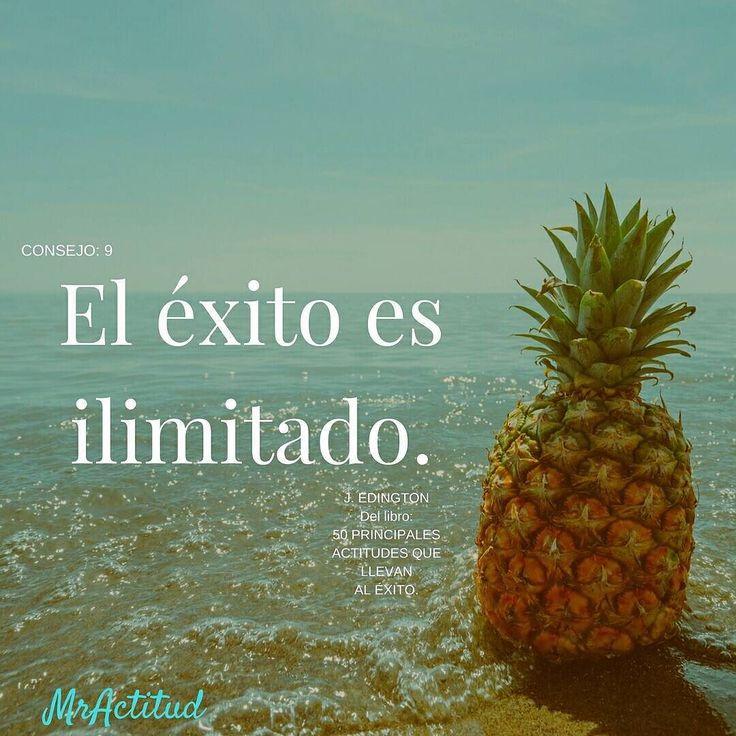 Consejo 9. J. Edington. El éxito es ilimitado. El oceano no tiene limites. Así el ser humano.#VitaminaMrActitud