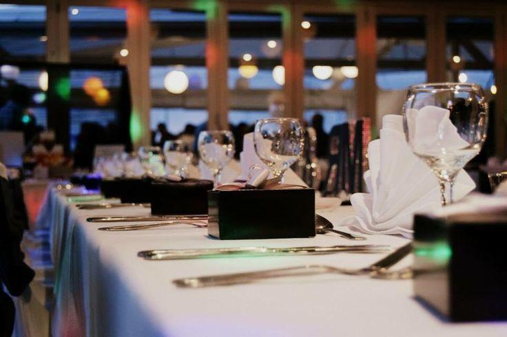 Black White & Bling Bridal Table Favours