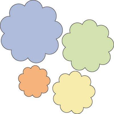 !!!!♥ Feltro-Aholic ♥ Moldes e pap em feltro e feltro estampado!: Flores de…