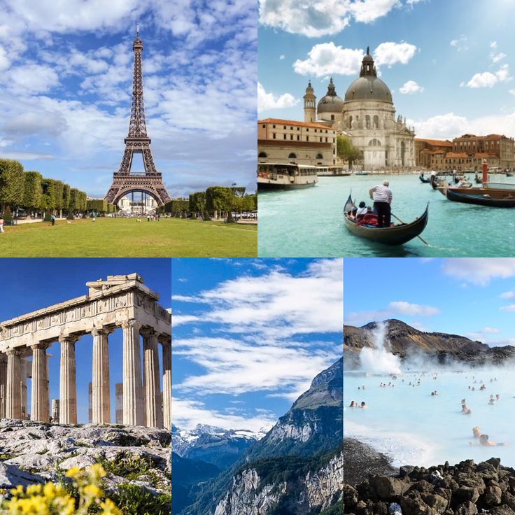 Traveling is a huge motivation for me! My list of places I've visited is quite short… I've been on a high school trip to Italy for a week and I spent a week with my boyfrien…