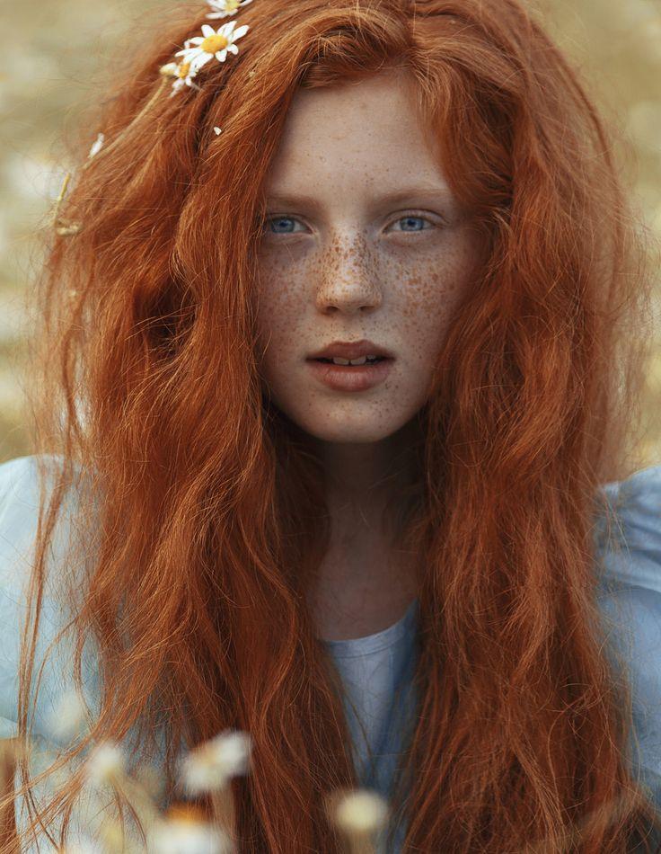 La pelirroja del día es Katerina Plotnikova