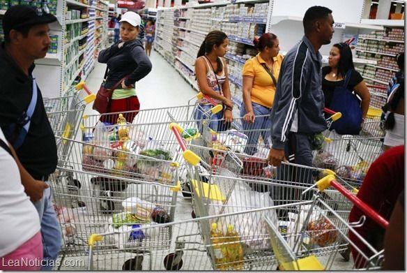 Venezuela: Canasta Básica Familiar subió en febrero a 33.759,96 bolívares - http://www.leanoticias.com/2015/03/24/venezuela-canasta-basica-familiar-subio-en-febrero-a-33-75996-bolivares/
