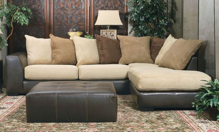 2-Piece Sectional Sofa - Grand Home Furnishings | K217