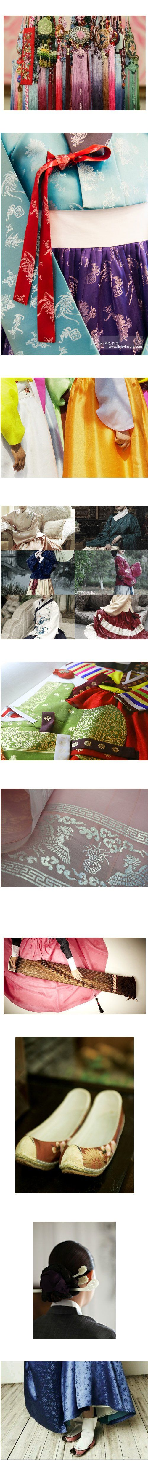 Beautiful hanbok details