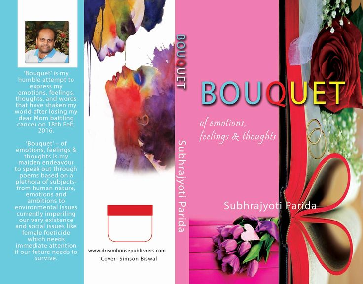 Cover design of my upcoming maiden book, 'Bouquet', a collection of poems, soon going to hit your nearest stores and also will available on online stores..
