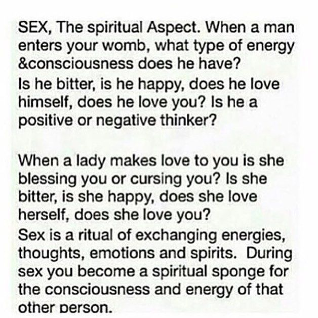 http://toasty-twin-flame-tastic.tumblr.com/ Sex is so much more than just reaching an orgasm. Delve into study of sacred sexuality to begin opening your mind to what is. Immerse yourself in spiritual sexual rituals that heal cleanse & purify. Be mindful before during & after sex. How do feel? What are your desires? What are your intentions? Really look in your partners eyes. Connect with their soul. Feel their touch the warmth of their body their gentle breath. Let go of control and…