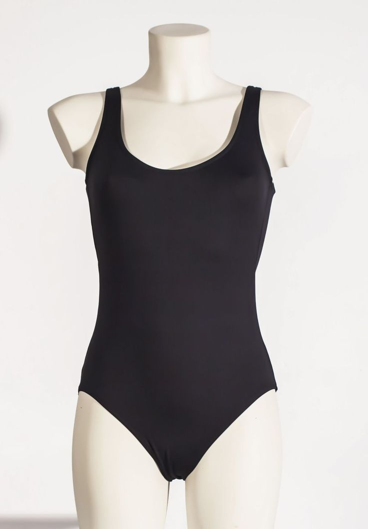 Bar Maillot | black one piece bathing suit.