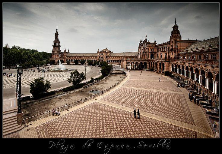 Plaza de España, Sevilla..