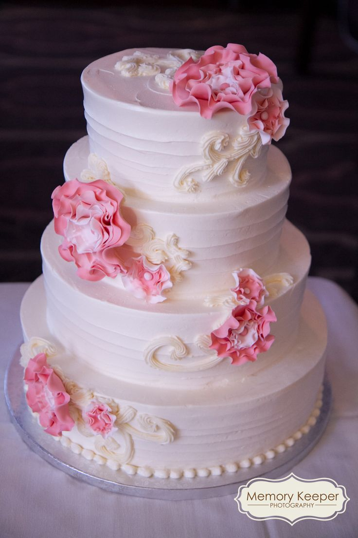 129 best the chocolate indulgence room wedding cakes other off white wedding cake with pink flower details cake by the sweet life dhlflorist Image collections