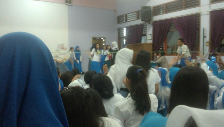 Lomba Joget di SMKN 8