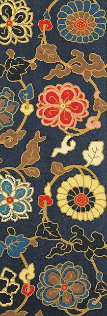Chinese Motif Patterns from art blog Flyer Goodness