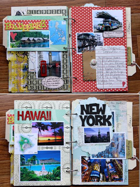 travel scrapbook...even though thats basically Pinterest