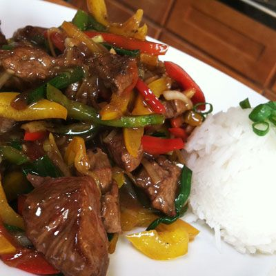 Make this amazing Chinese Five Spice Beef Stir-Fry that is loaded with flavor!