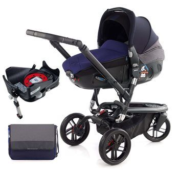 Jane Trider + Matrix + Isofix Base, Atlantic  - Click to view larger image