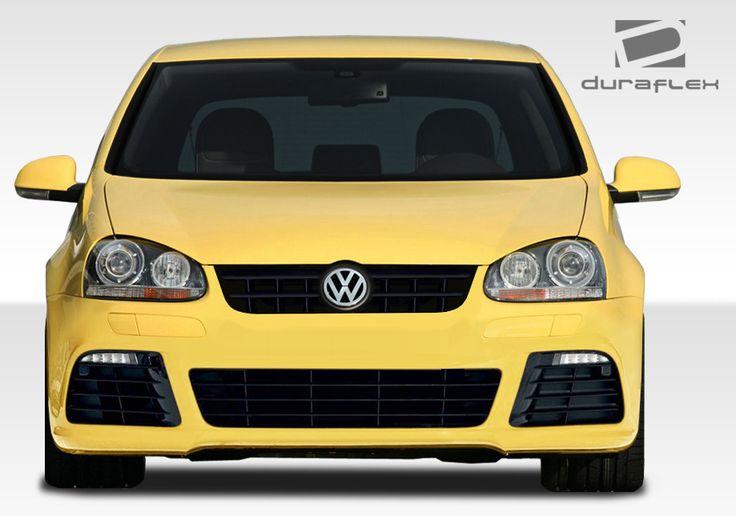 2005-2010 Volkswagen Jetta 2006-2009 Golf GTI Rabbit Duraflex R Look Front Bumper Cover - 1 Piece
