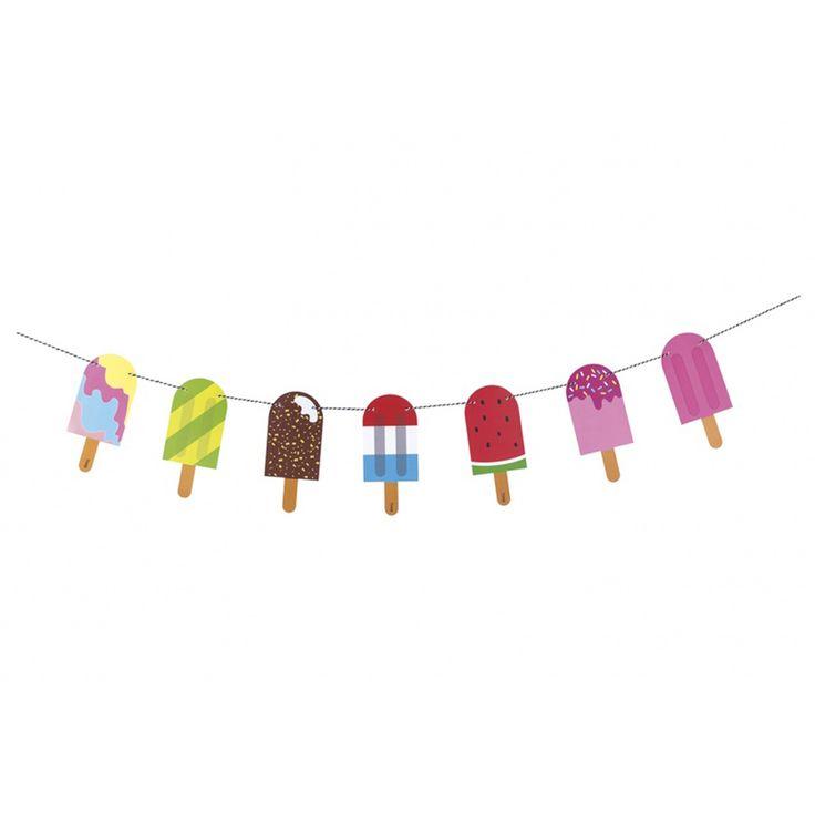 Гирлянда для вечеринки Popsicle купить в интернет-магазине Enjoy-Me.Ru, цены, отзывы, фото. Заказать гирлянда для вечеринки Popsicle в Москве и Санкт-Петербурге