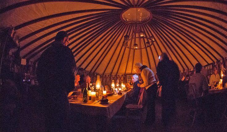 Montana Backcountry Adventures: The Montana Dinner Yurt