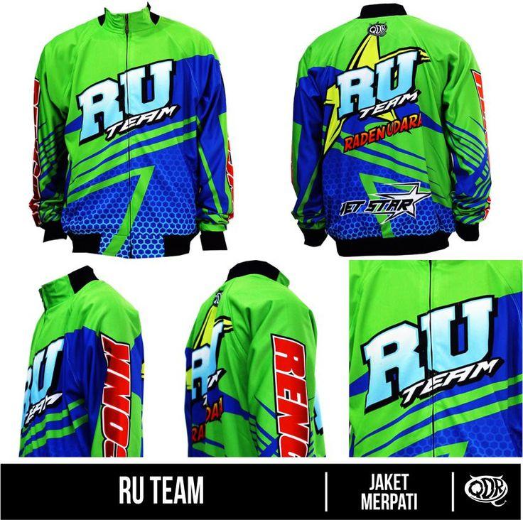 Jaket Merpati - RU Team  Bahan: Lotto printing: sublimasi untuk pemesanan: BBM D5443117 Qdr online shop WA/LINE 081222970120
