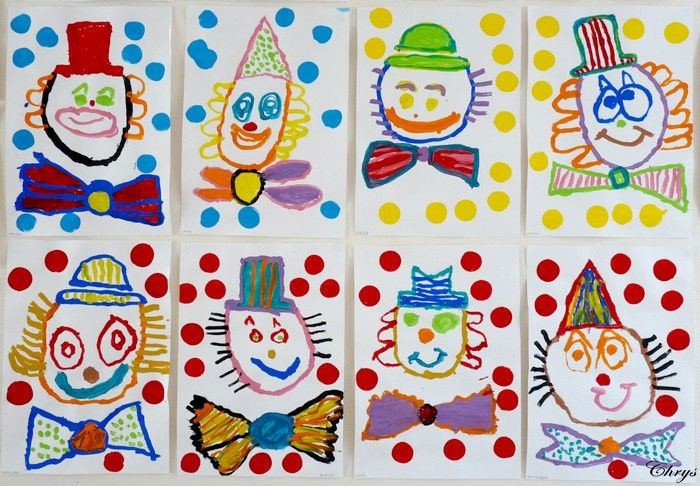 Dagboek Chrys: Lachende Clown HOE SCHILDER JE CLOWNS