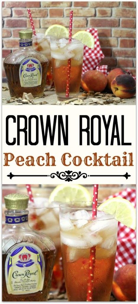 Best 25 crown royal apple recipes ideas on pinterest regal royal peach cocktail drinks with crown forumfinder Images