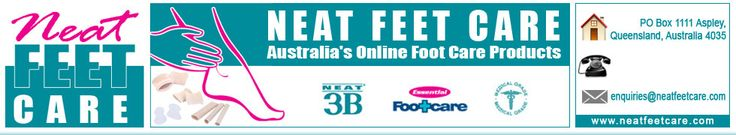 http://www.neatfeetcare.com/  Neat Feet Care offers best products for better foot health. Buy our affordable arch supports, bunions & calluses treatment. Contact our no. +61432109718.