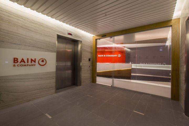 Bain & Company offices by Leonetti Piemonte Arquitetura São Paulo  Brazil