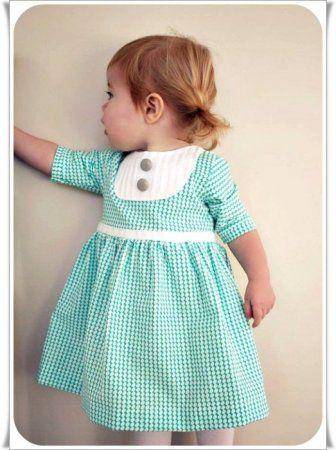 Детское классическое платье для девочки: выкройка и мастер класс по шитью