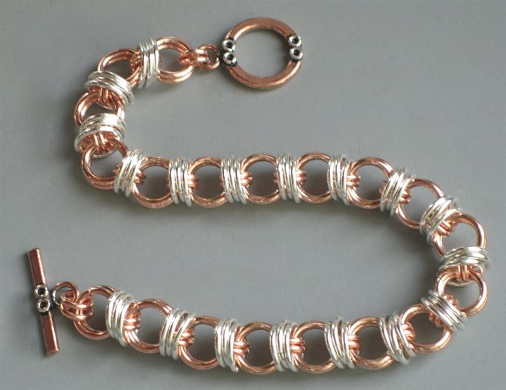 Captive Caterpillar Chainmaille Bracelet - Bead Style Magazine Community - Forums and Photo Galleries