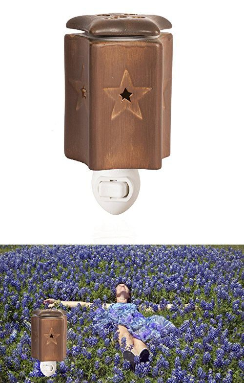 Rustic Star Accent Warmer - The Go To Home Fragrance Products as A Flameless Replacement For Scented Candles as well as a Great Addition to Your Home Decor -*CLEARANCE ITEM