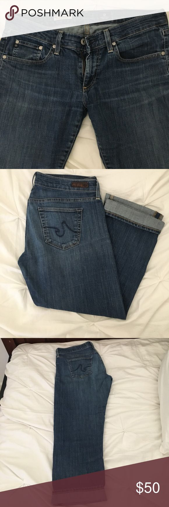 AG jeans Tomboy cropped great condition AG jeans Tomboy cropped great condition AG Adriano Goldschmied Jeans Ankle & Cropped
