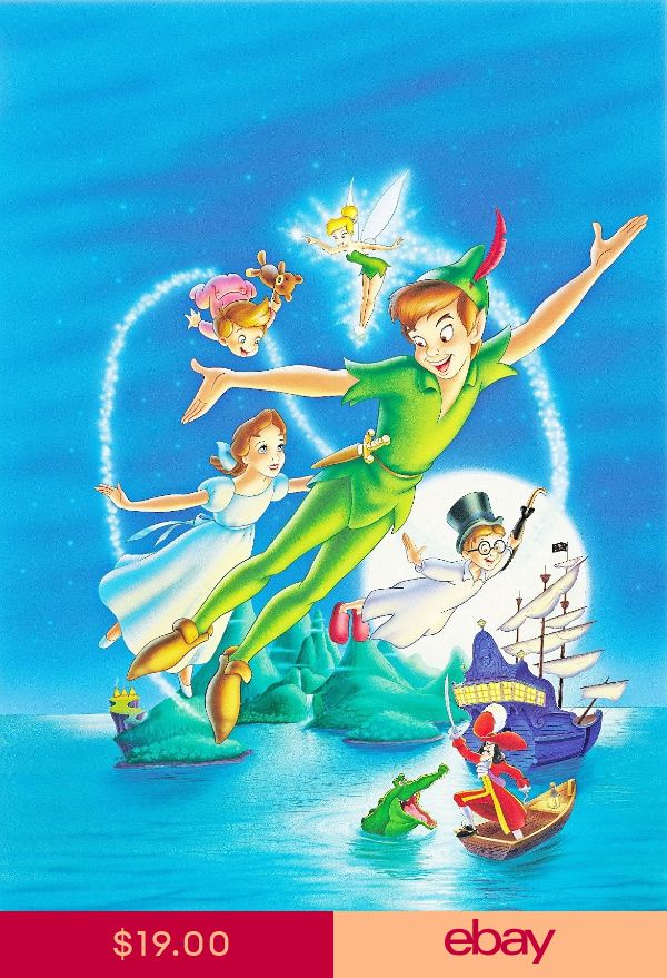 2 Sizes Available 01 DISNEY KIDS POSTER PIXAR PETER PAN POSTER