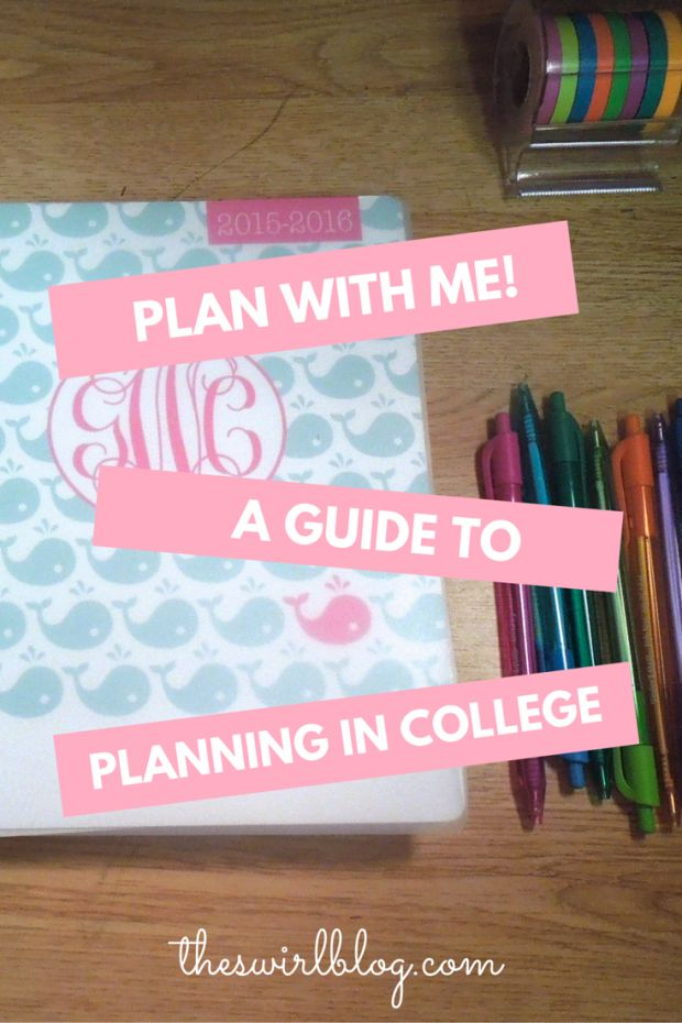 How one student uses her planner to keep up with her busy college life. Tips for staying organized as a college student so that you never miss a deadline and know when you need to study!