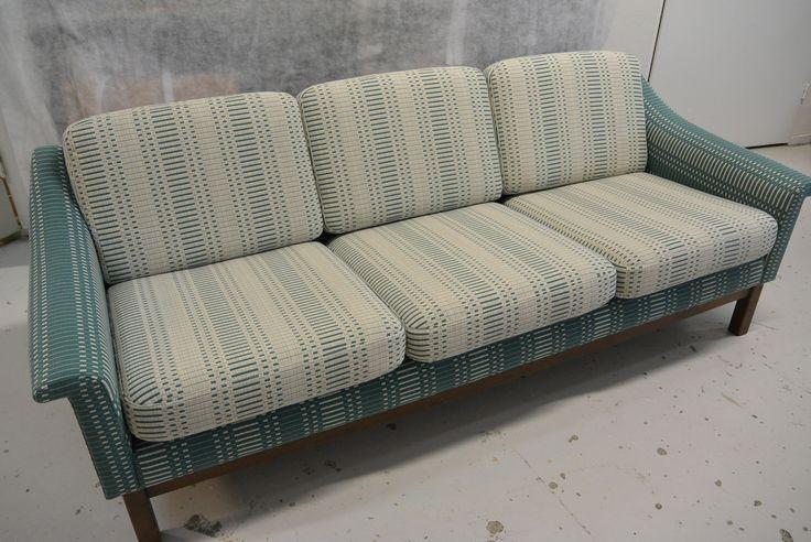 Asko Export Marlena sohva uudelleen verhoiltu