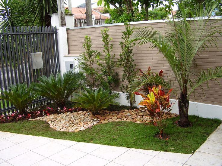 Las 25 mejores ideas sobre paisajismo del frente de la for Ideas jardines exteriores