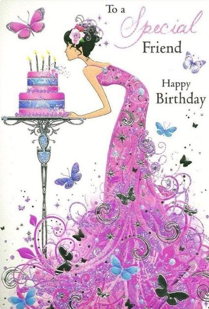 To my dear friend Naka chang I know somewhere celebrating her bithday