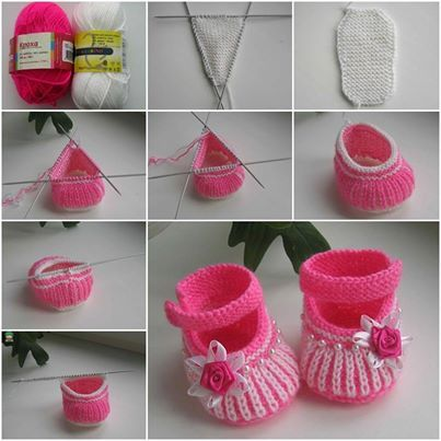 Homemade baby booties for baby gifts are easier than you think! What better than a one of a kind handmade pair. This tutorial will set you down the path to making some adorable baby booties! Baby Booties are a great gift for a newborn, especially when they're handmade. Let's learn how to knit a pair of basic baby booties whether you're a beginner or a veteran.